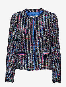 BLAZER LONG-SLEEVE - BLUE MULTICOLOR