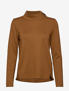 T-SHIRT LONG-SLEEVE - TOFFEE