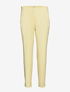 CROP LEISURE TROUSER - slim fit spodnie - lemonade
