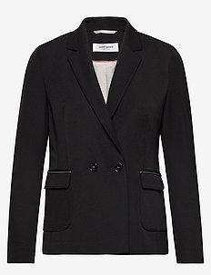 BLAZER LONG-SLEEVE - blazere - black