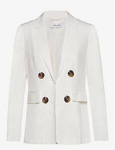 BLAZER LONG-SLEEVE - blazere - off-white