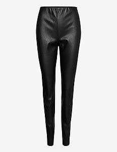 LEISURE TROUSERS LON - skinnbukser - black