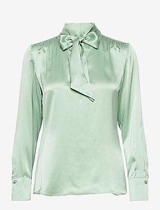 BLOUSE LONG-SLEEVE - blouses à manches longues - soft mint