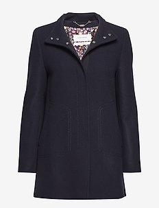 OUTDOORJACKET WOOL - wool jackets - indigo