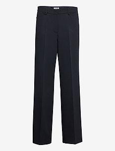 TROUSERS CLOTH  LONG - bukser med lige ben - dark navy