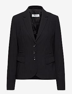 BLAZER LONG-SLEEVE - blazer - black