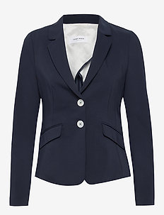 BLAZER LONG-SLEEVE - skreddersydde blazers - dark navy