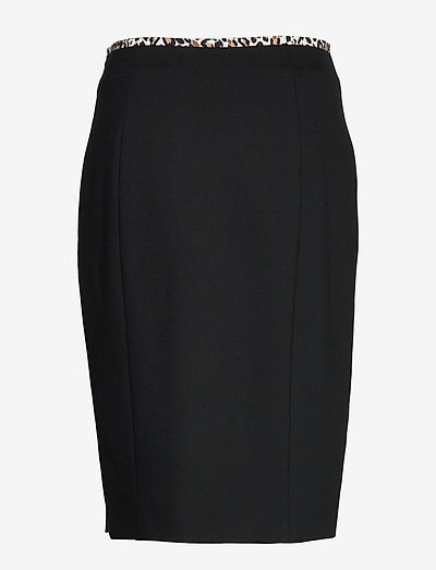 Gerry Weber Skirt Short Woven Fa- Spódnice Black