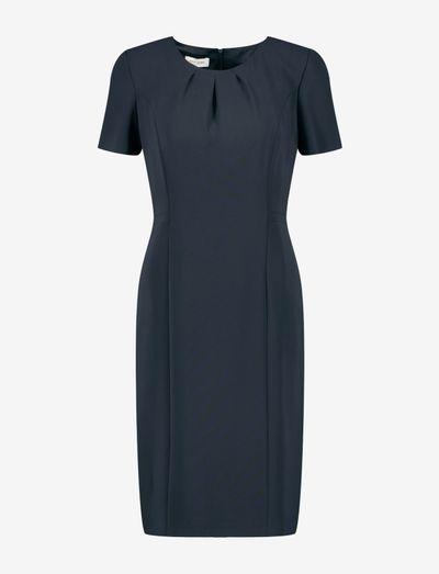 DRESS WOVEN FABRIC - fodralklänningar - navy