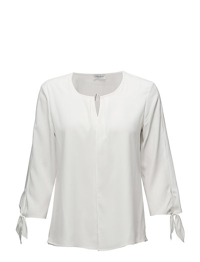 BLOUSE 3/4-SLEEVE - OFF-WHITE
