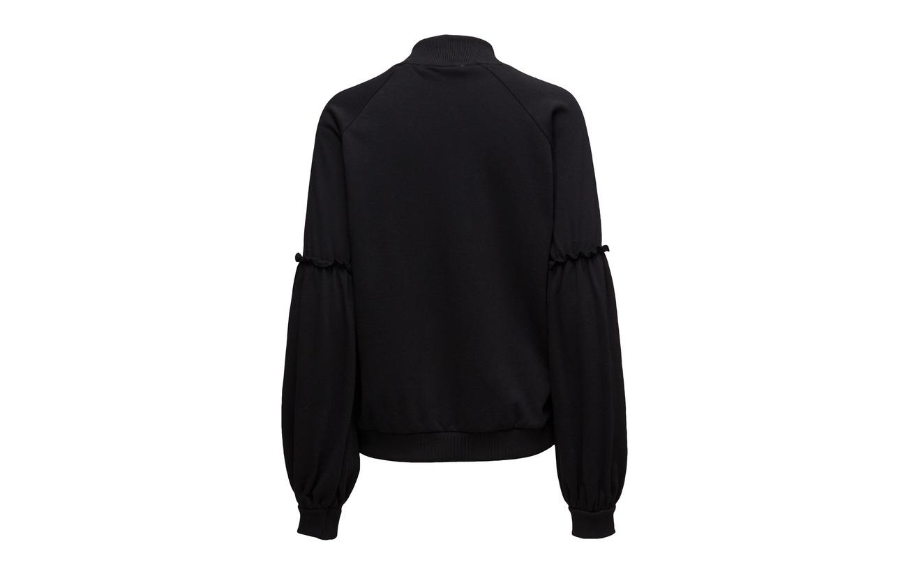Gestuz Pullover Brooke Coton Ma17 Black 100 fHfrwqpB6