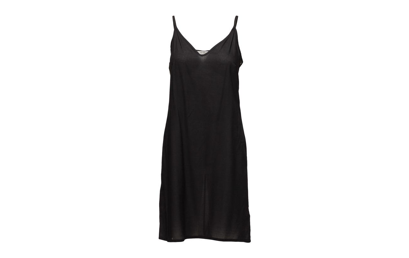 So18 Gestuz Dress 100 Viscose Doublure Black Intérieure Équipement Baxtor vTxxnfE