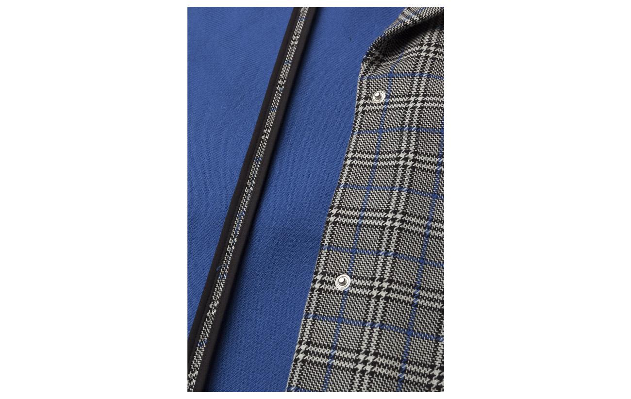 Polyester Black Check Ms18 90 Other white Coton 1 Vinne Gestuz 9 Coat x6zBz7