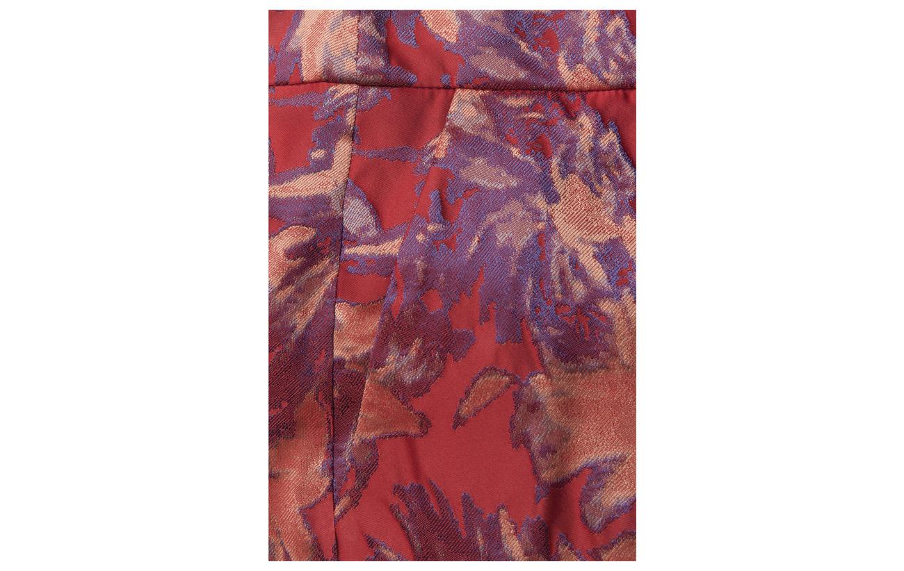 Poinsettia Polyester Ms18 Soffy 100 Pants Gestuz fwvxAtUqB
