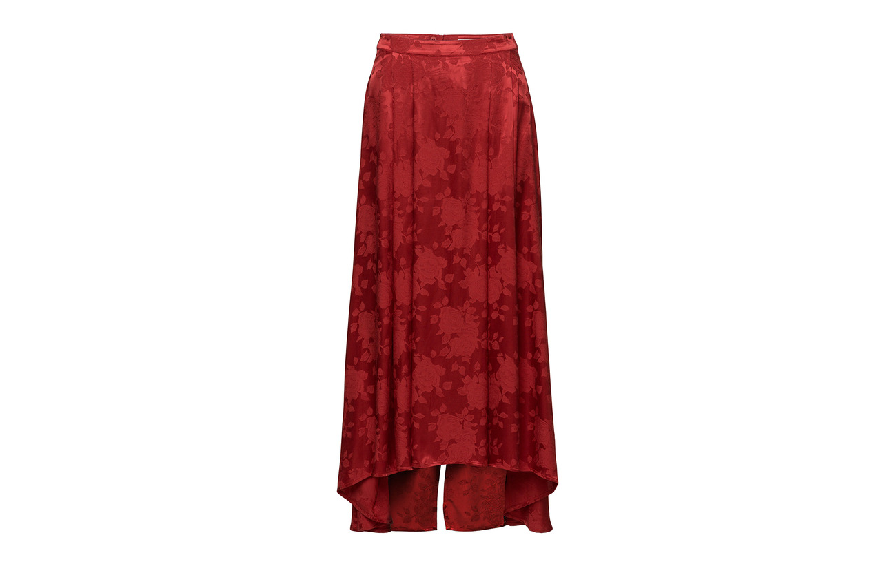 100 Poinsettia Woven Intérieure Équipement Viscose Settia Doublure Ms18 Gestuz Skirt nqwxagv7p