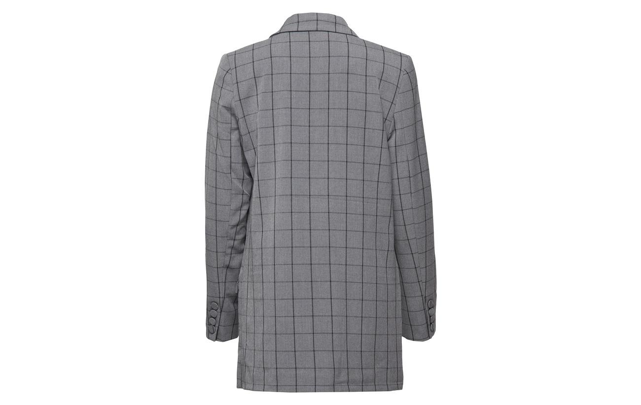 Check Blazer Intérieure Mokita Gestuz Ma18 Elastane Doublure 5 Polyester Polyester Équipement 100 95 pqTtpxwfH