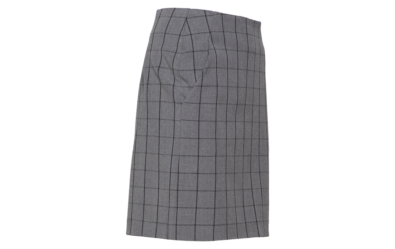 100 Polyester Gestuz Intérieure Skirt Elastane 95 Doublure Ma18 Équipement 5 Mokita Check Polyester WUOFnx1U