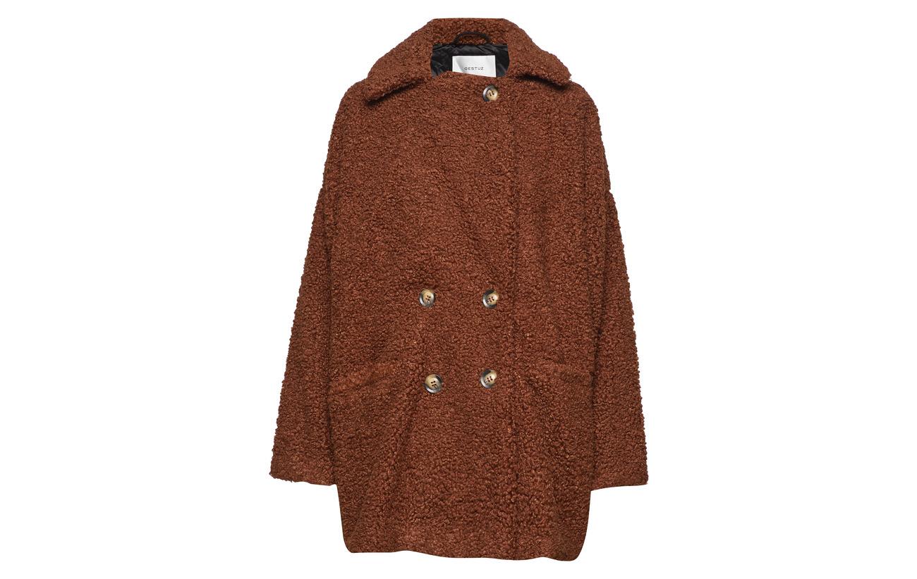 Polyester Caramel Doublure Jacket Eri Équipement 100 Intérieure Café Ma18 Gestuz wfqOA8RR