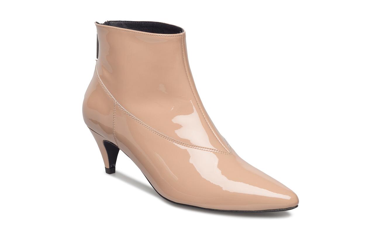 Gestuz Sheba patent boots ZE1 18 - NUDE