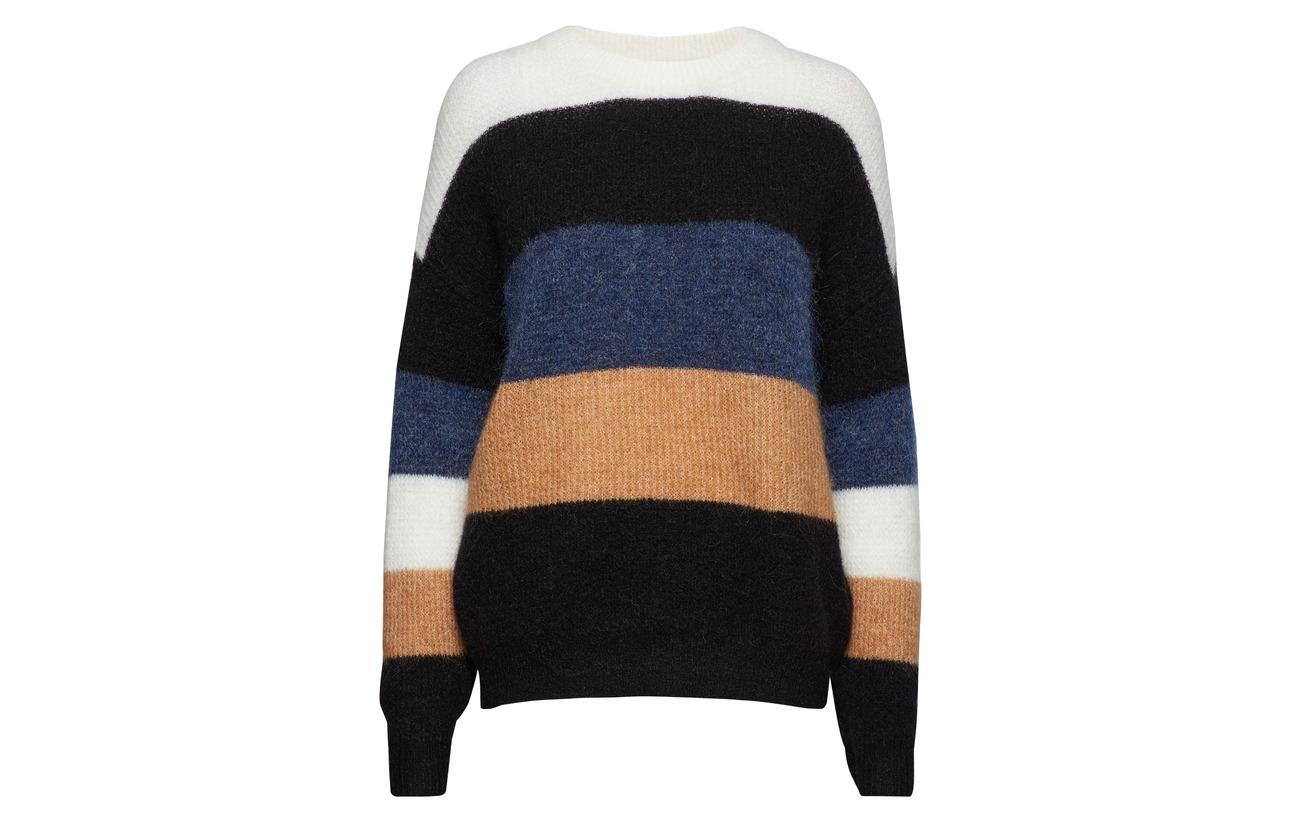 4 Gestuz Stripes Nylon Elastane Multi Striped So19 28 Pullover Laine 34 Mohair Debbie XqrxfPX