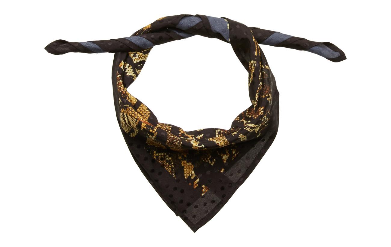 Gestuz AyeneGZ scarf MA19 - STRIPE YELLOW SNAKE