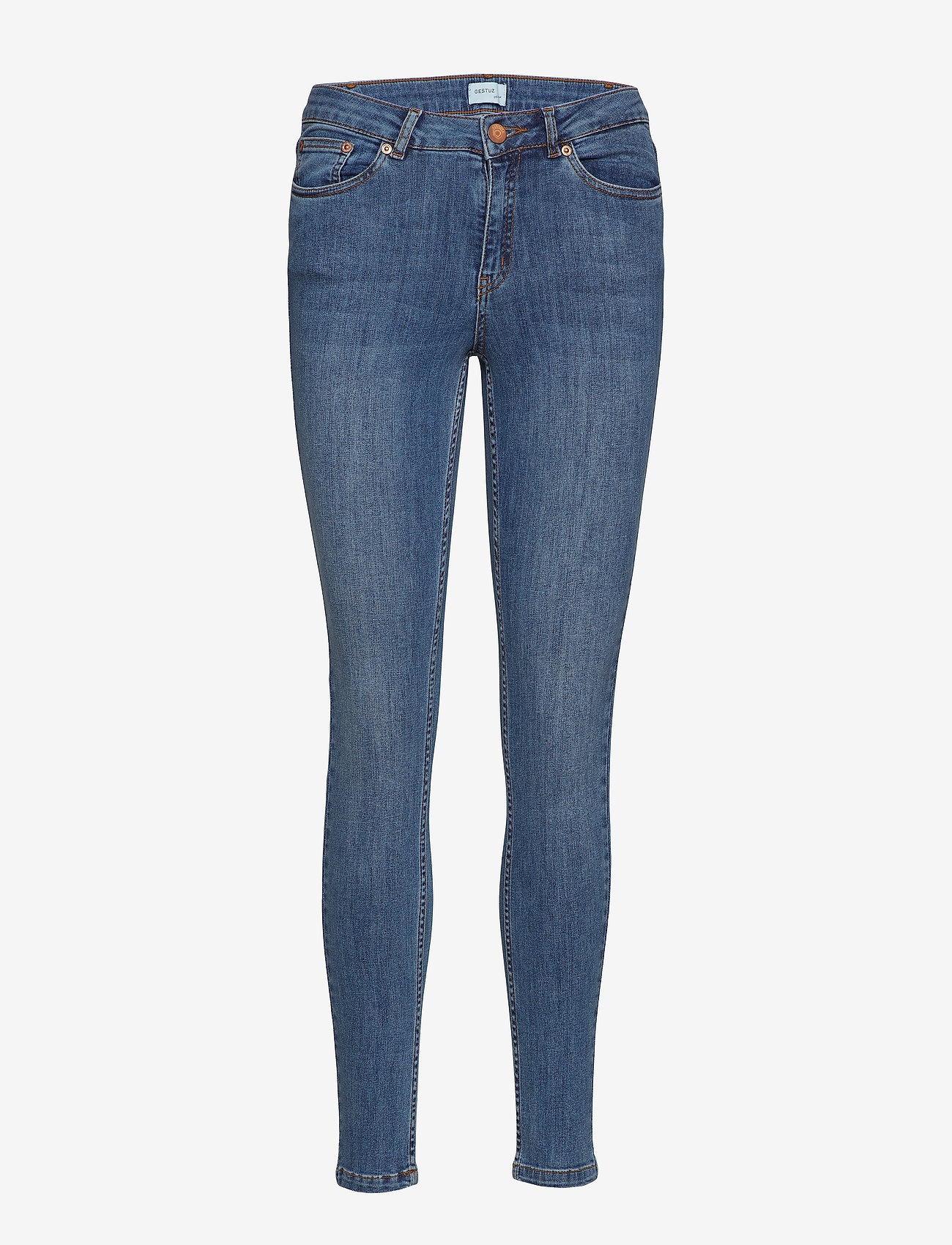 Gestuz - MaggieGZ Jeans NOOS - skinny farkut - l.a. blue - 0