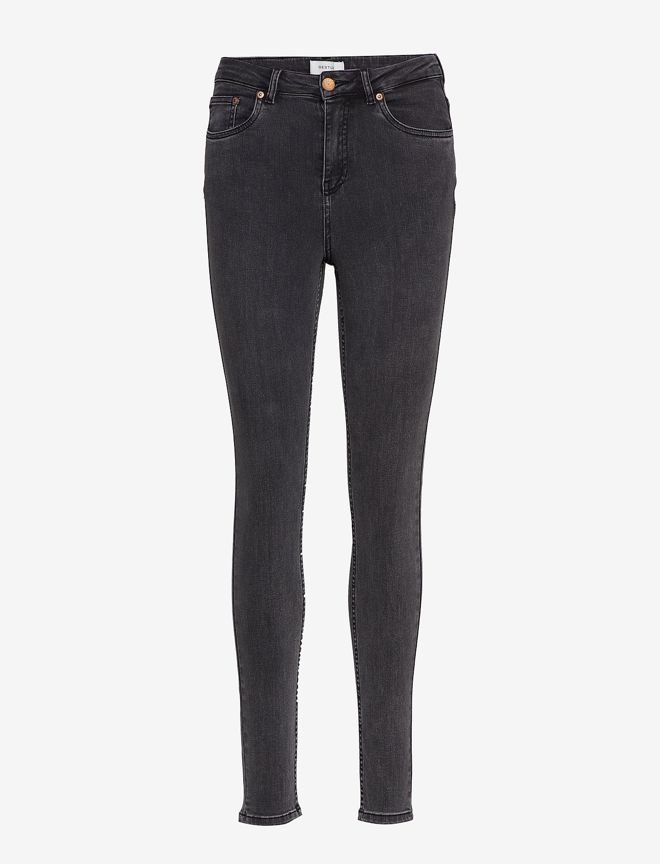 Gestuz - EmilyGZ jeans - skinny farkut - storm grey - 0