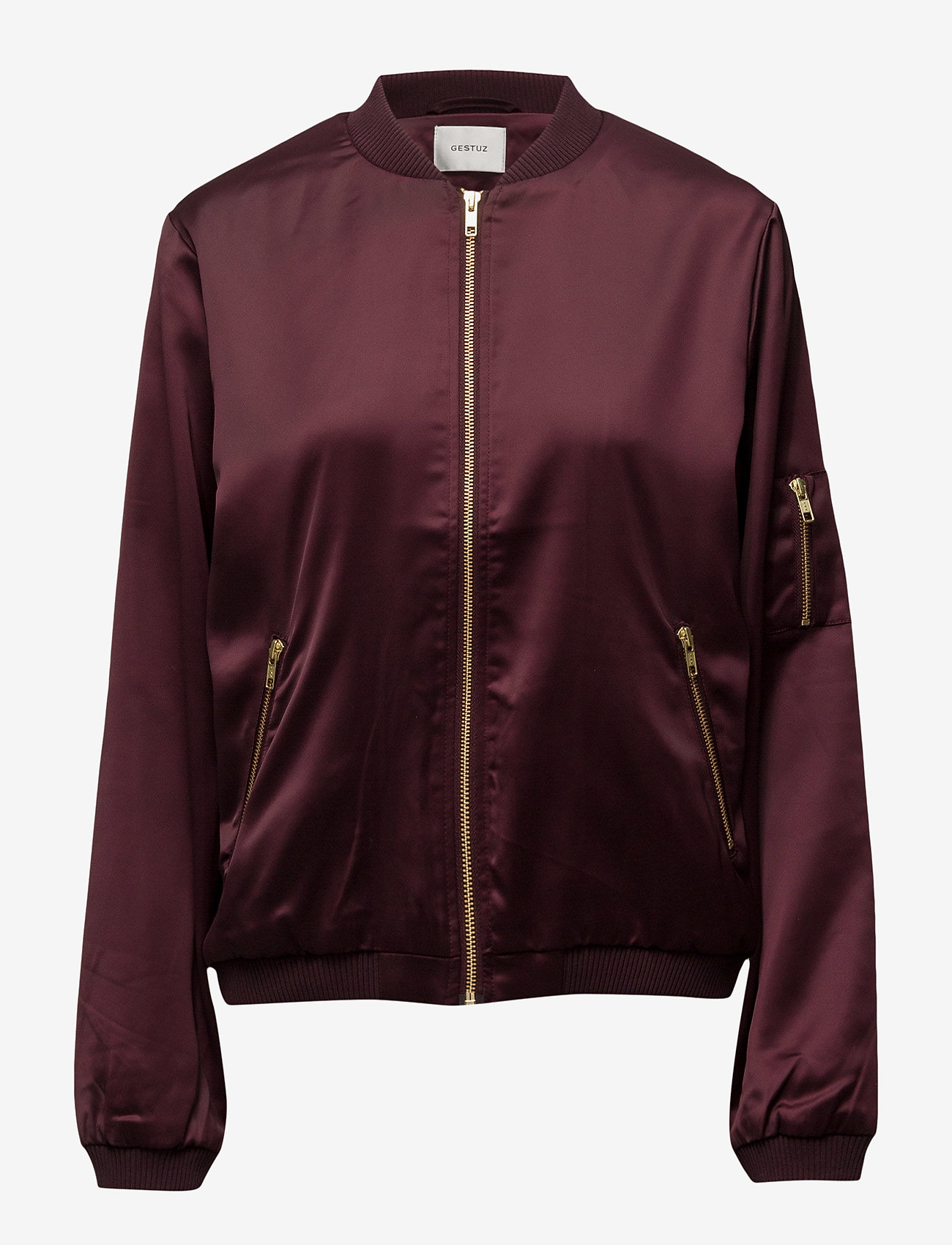 Gestuz - Georgie bomber jacket YE16 - bomber jakker - winetasting - 0