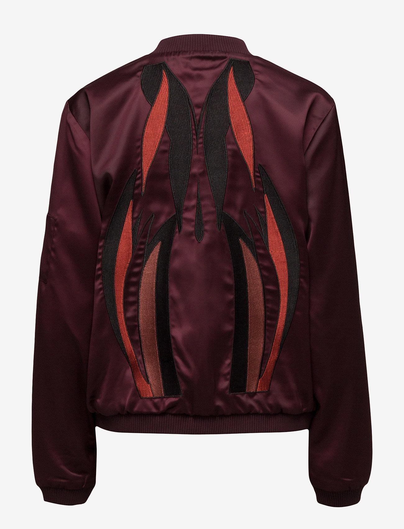 Gestuz - Georgie bomber jacket YE16 - bomber jakker - winetasting - 1