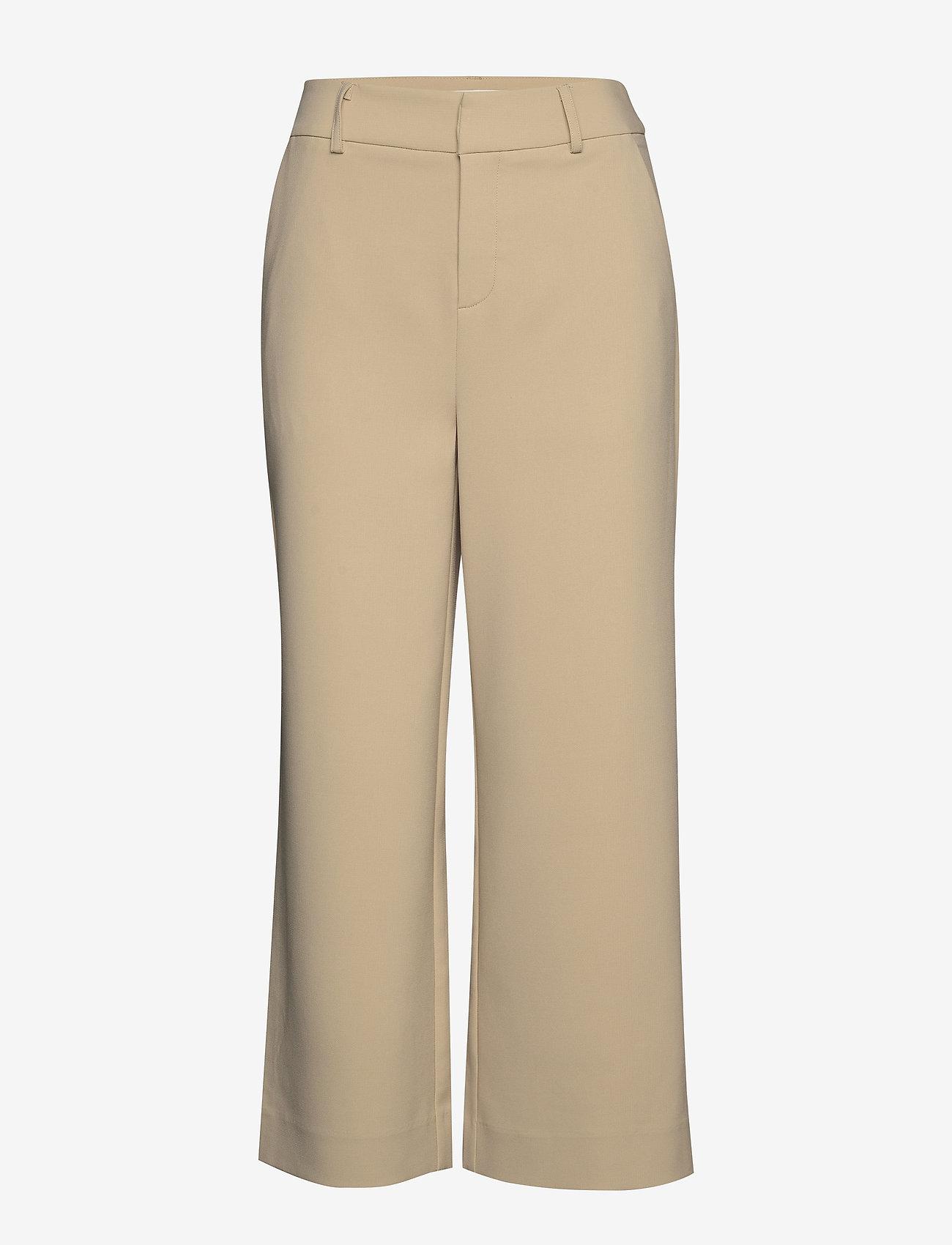 Gestuz - JoelleGZ culotte NOOS - bukser med brede ben - safari - 0