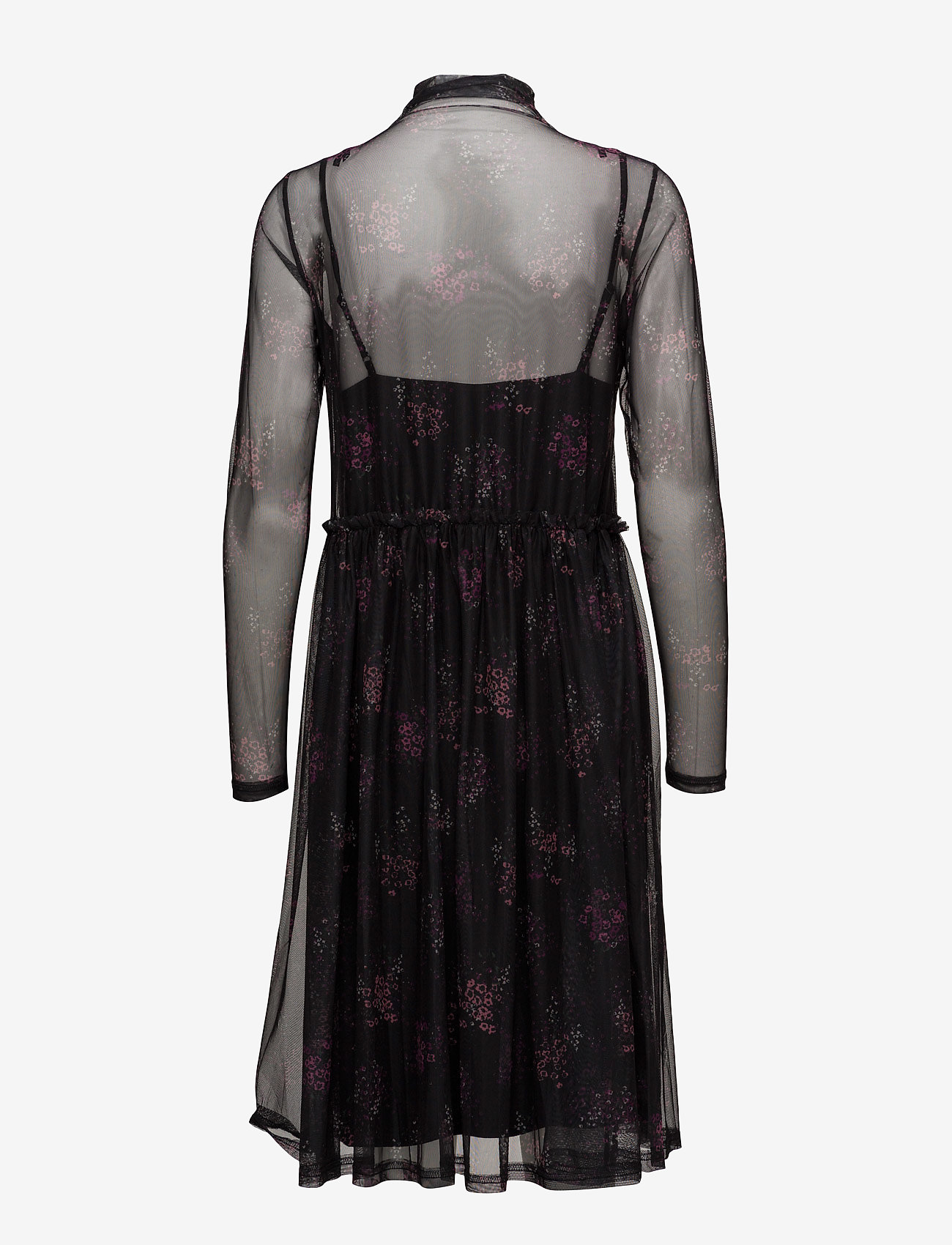 Mesha Dress Ze1 17 (Pink/black Print) (599.50 kr) - Gestuz