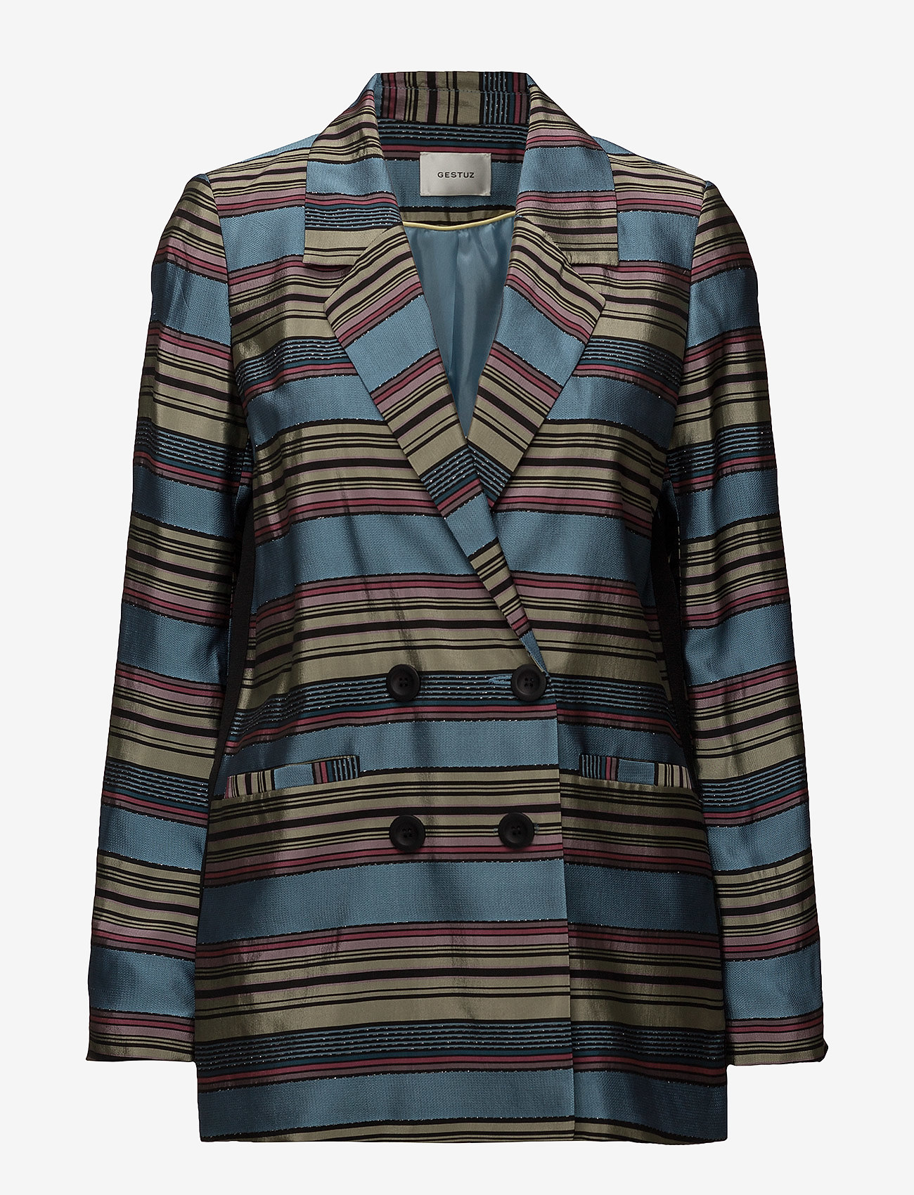 Gestuz - Samin blazer SO18 - blazere - multi stripes - 0