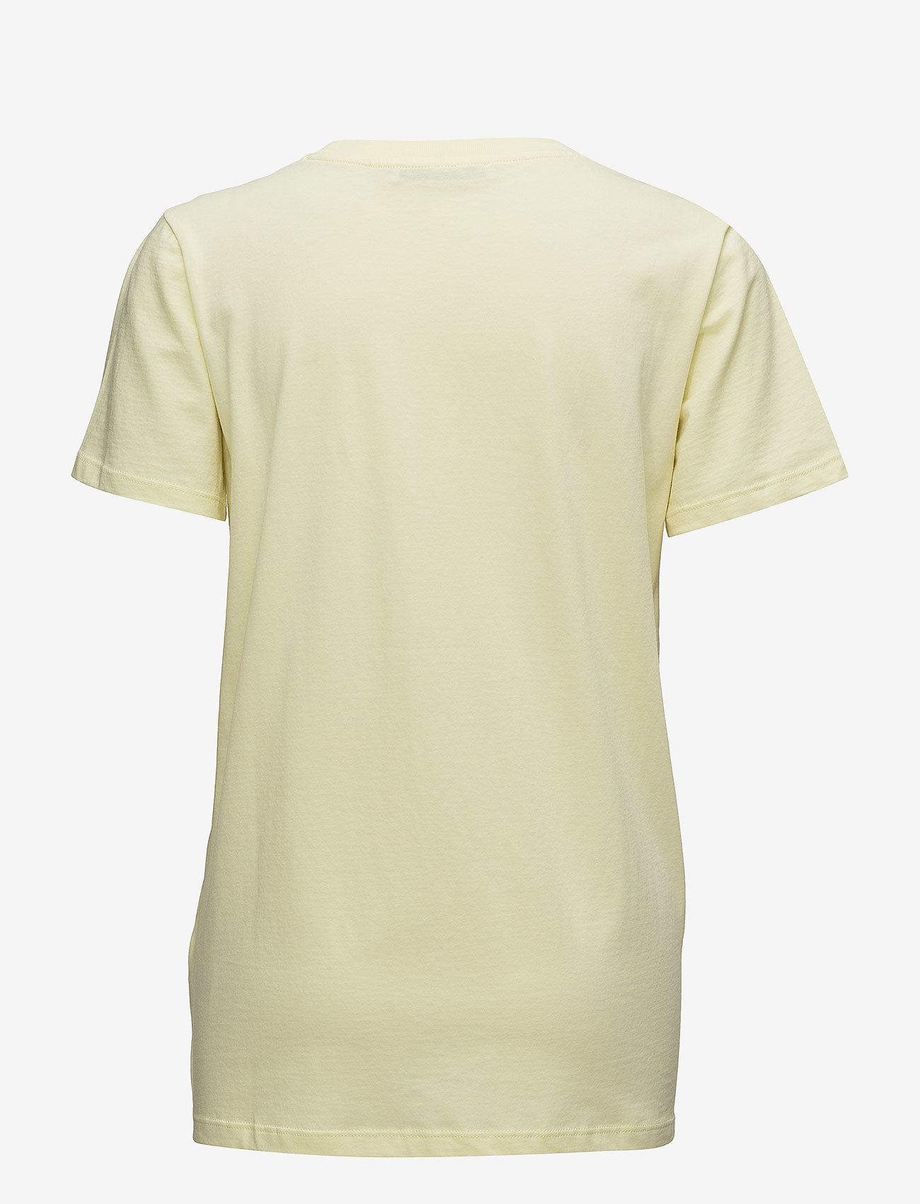 Gestuz - Bowi oz top MS18 - printed t-shirts - yellow pear - 1
