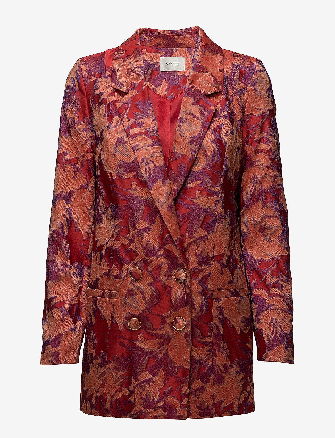 Gestuz - Soffy blazer MS18 - blazere - poinsettia - 0