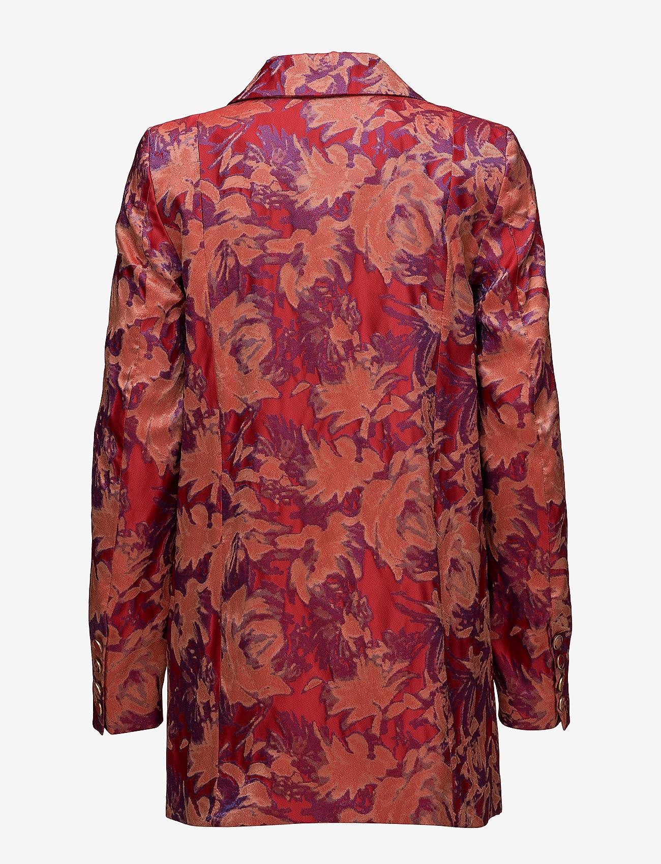 Gestuz - Soffy blazer MS18 - blazere - poinsettia - 1