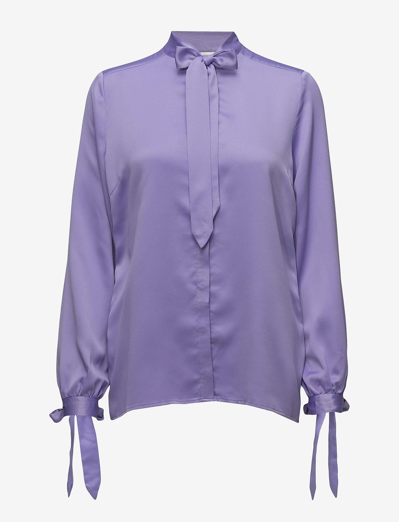 Gestuz - Mimi shirt MA18 - long sleeved blouses - sand verbena