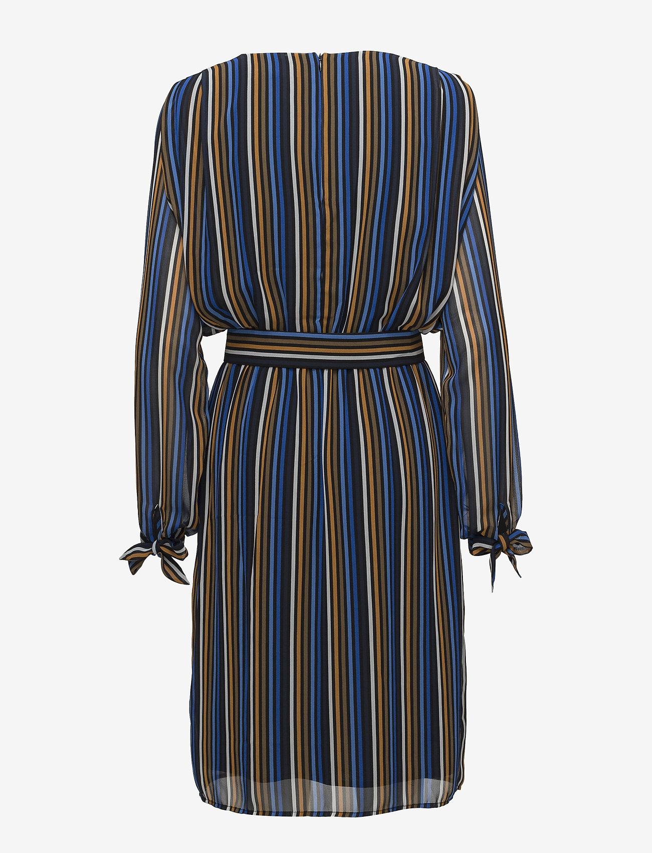 Gestuz - Riba dress MA18 - midi dresses - blue stribe