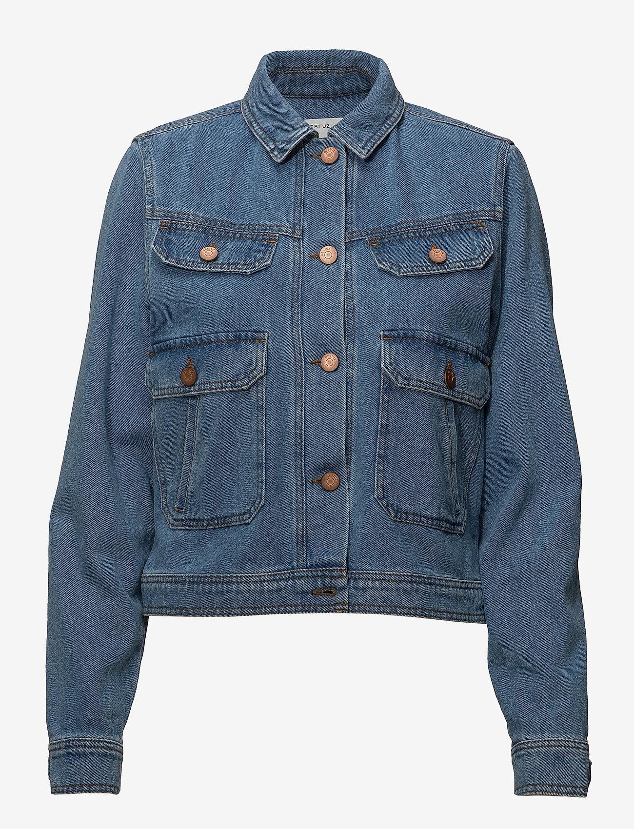 Gestuz - Jenelle jacket MA18 - denim jackets - medium blue