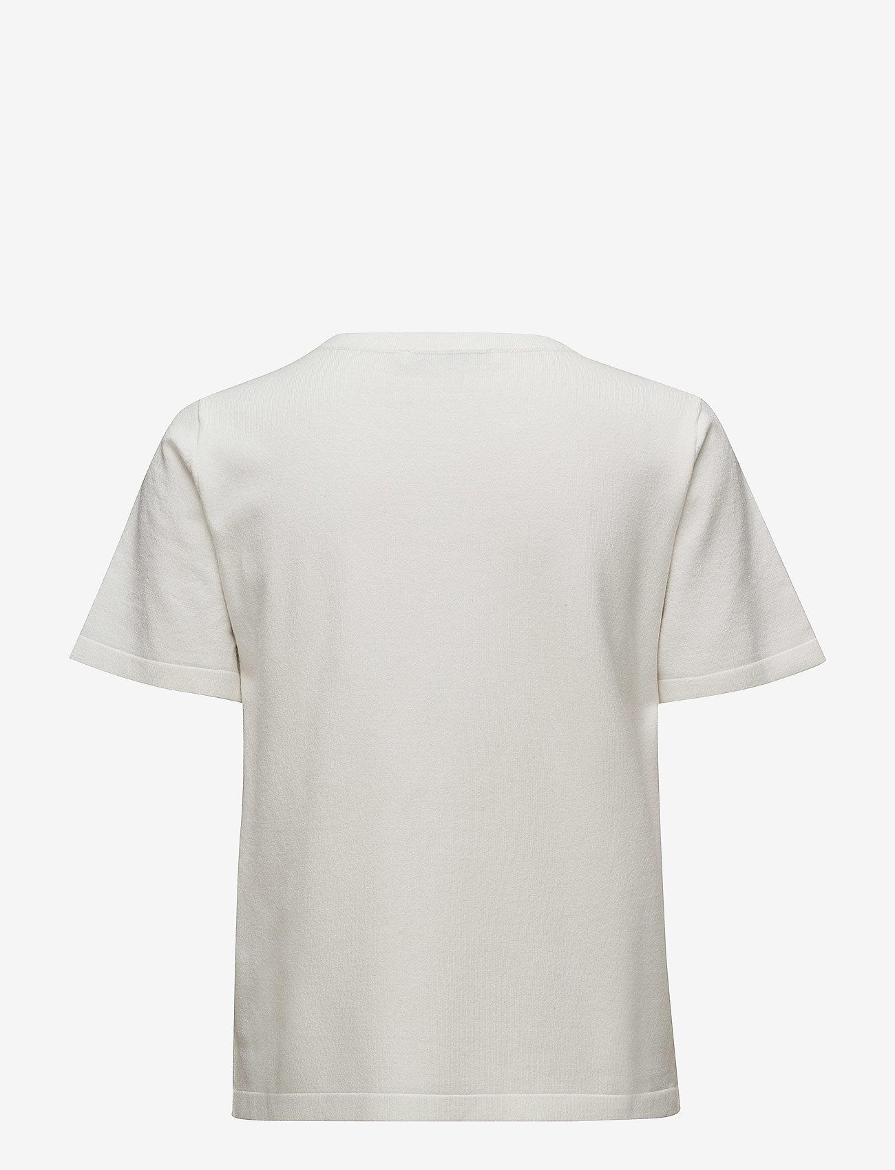 Gestuz - Linka ss pullover MA18 - printed t-shirts - pristine - 1