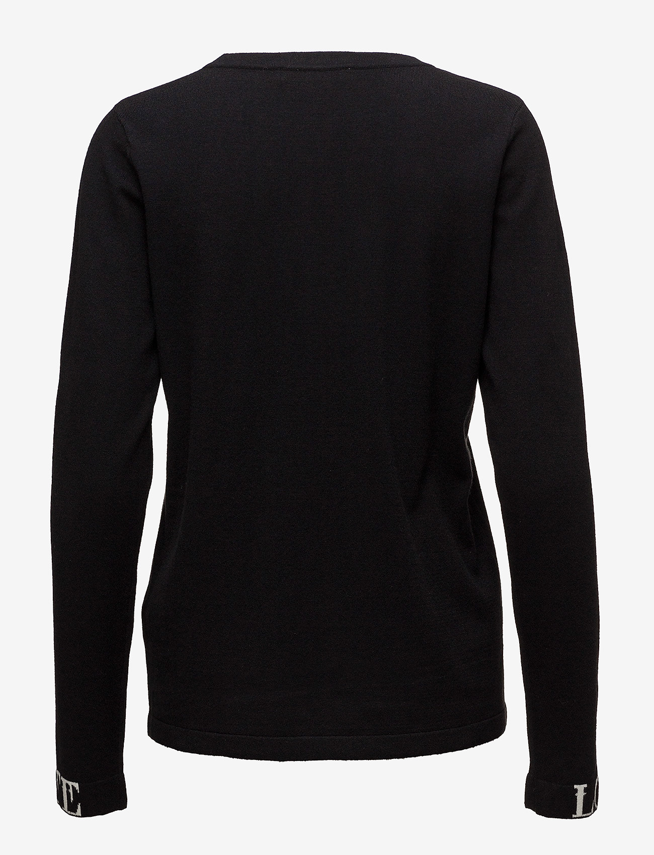 Gestuz - Linka ls pullover MA18 - jumpers - black