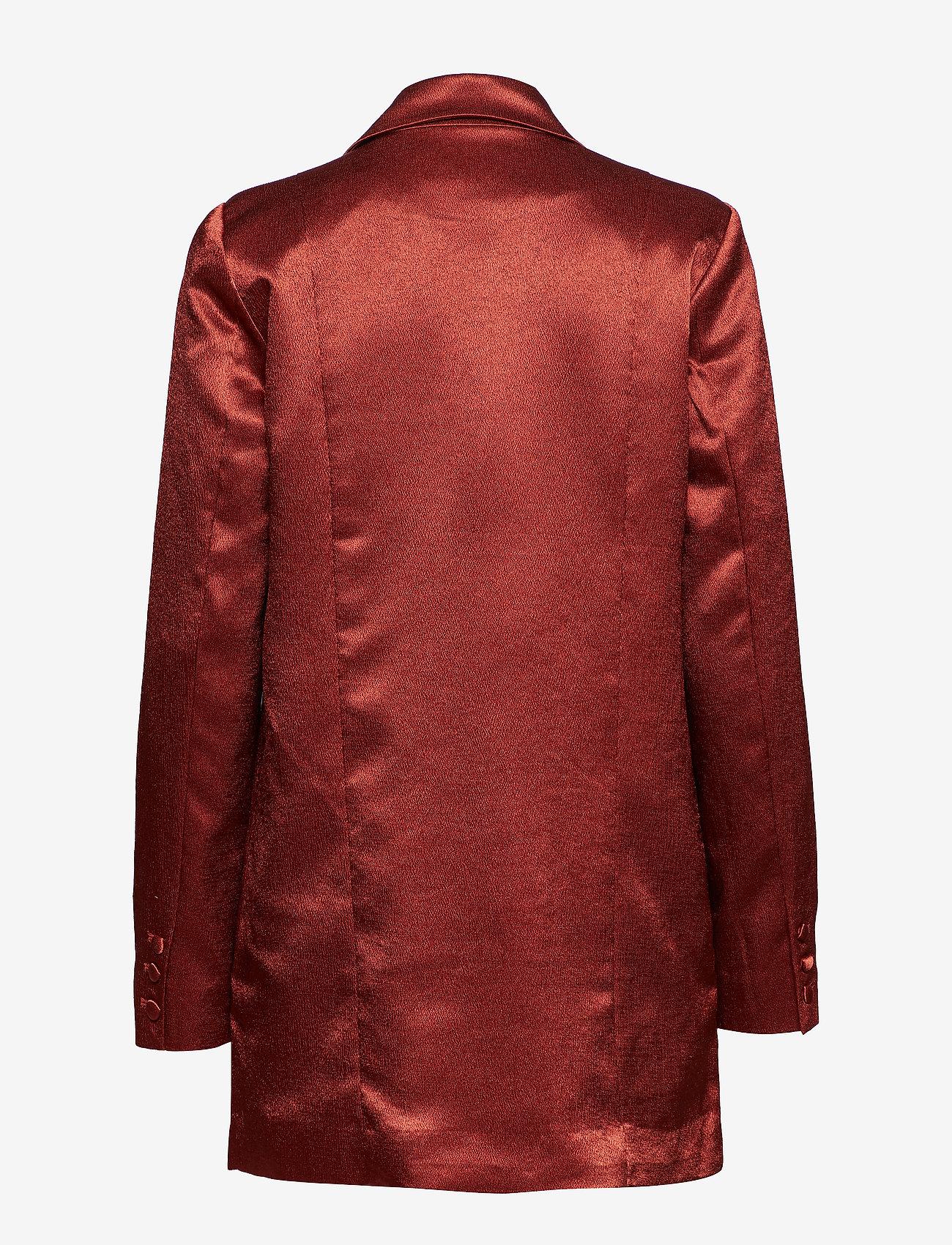Gestuz - Nicola blazer YE18 - oversized blazere - burned - 1