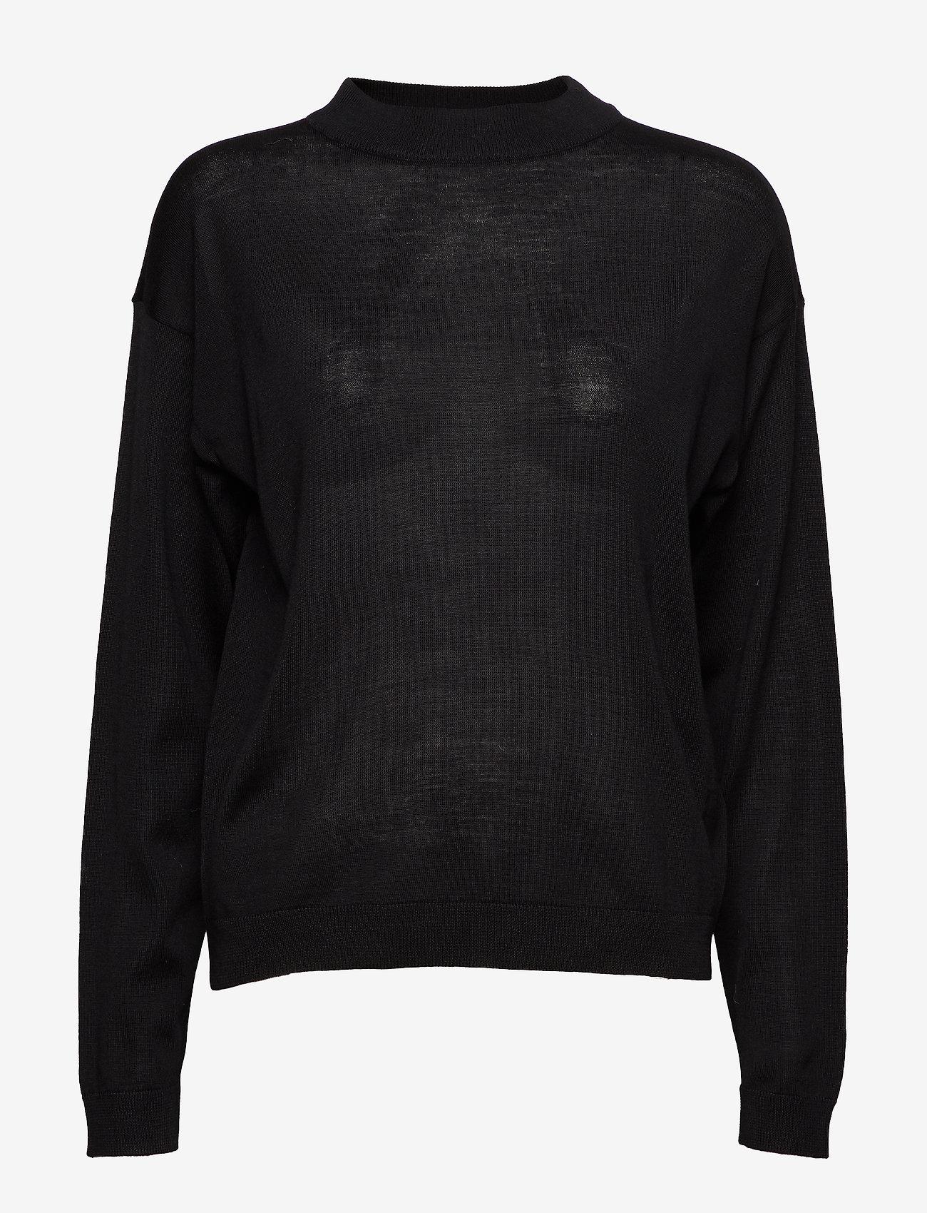 Gestuz - MerinaGZ pullover NOOS - trøjer - black - 1