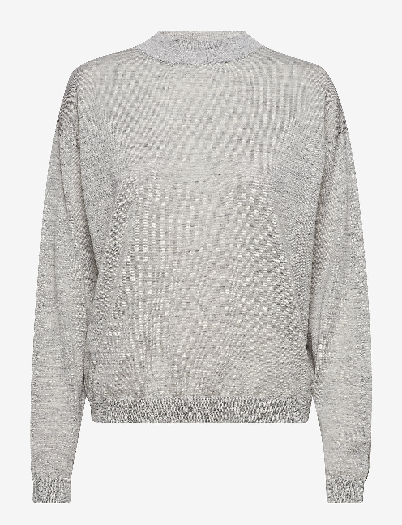 Gestuz - MerinaGZ pullover NOOS - trøjer - l.grey melange - 1