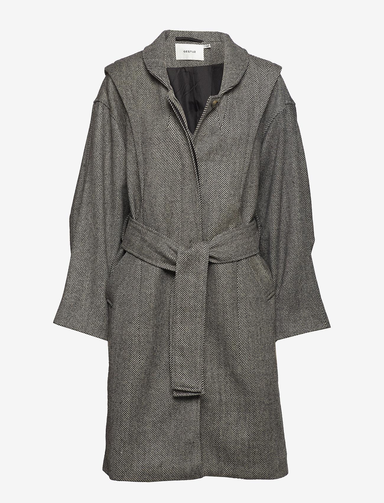 Wolla Coat Ze4 18 (Stripe As Sample) - Gestuz 8UThdF