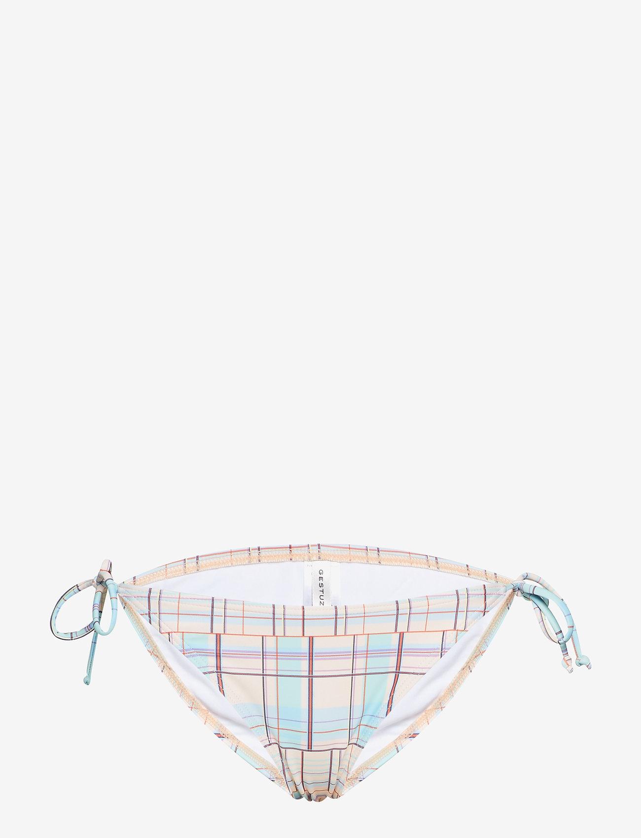 Gestuz - Canta bikini bottom MS19 - bikini underdele - multi check - 0