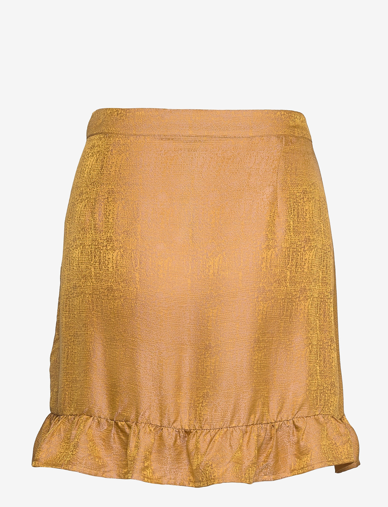 Gestuz - CammaGZ short skirt HS19 - omlottkjolar - narcissus yellow - 1