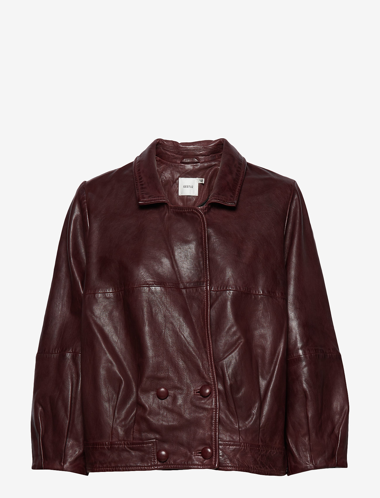 Gestuz - BetzyGZ jacket AO19 - leather jackets - port royale - 1