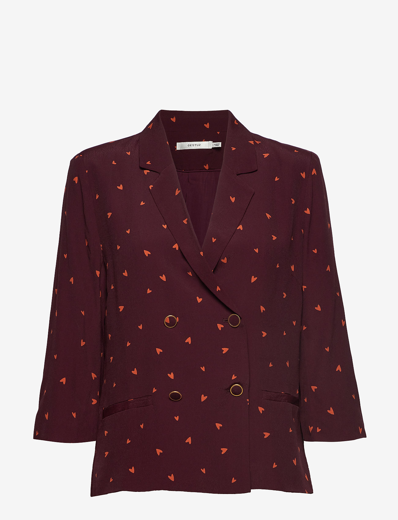 Gestuz - HoneyGZ blazer AO19 - blazere - port royale heart dot - 0
