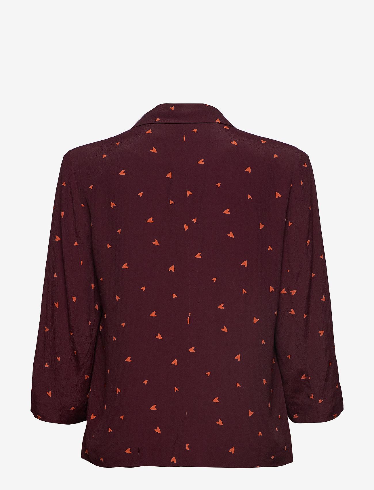 Gestuz - HoneyGZ blazer AO19 - blazere - port royale heart dot - 1