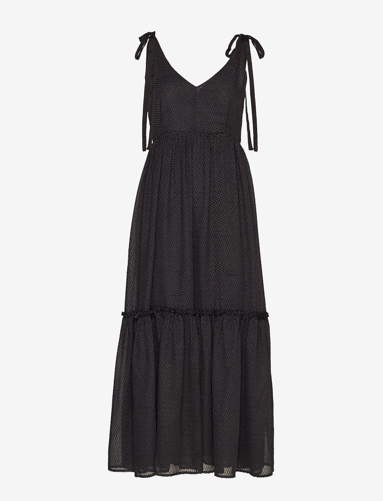 Gestuz - LonaGZ long dress AO19 - midi kjoler - black - 0